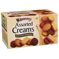 ARNOTTS ASSORTED CREAM BISCUITS 1.5KG
